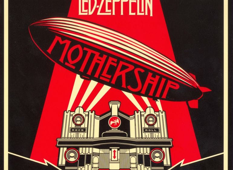 Led zeppelin - mothership - front