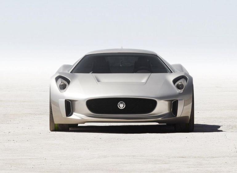 jaguar+c-x75+concept+2010+front