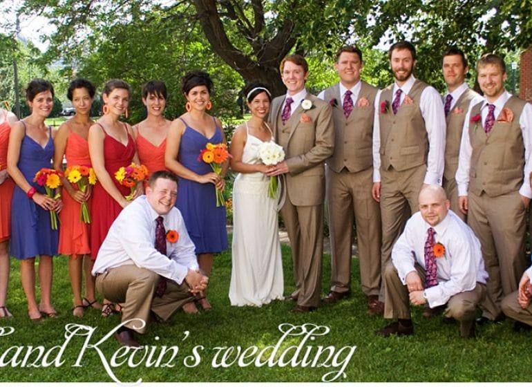 Jkweddingdance-jill and kevin wedding party